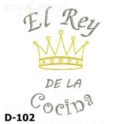 Frase de Cocina D-102