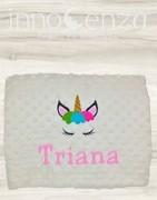 Mantas bordadas Personalizadas para Bebés